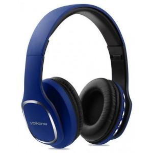 Volkano  VK-2002-BL  Phonic Series Blue Bluetooth Full Size Headphones