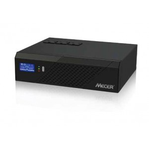 Mecer 1200VA (720W) Inverter Battery Charger (UPS) - Intelligent Fan (Optional Solar Charge Controller)