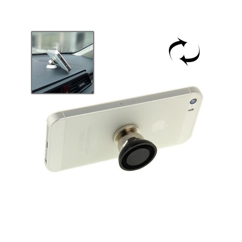 Tuff-Luv  I4_52  360 Degree Rotating Mini Car Mount Magnet For All Smartphones