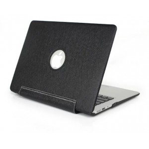 Tuff-Luv F3_54 Slim Skin Shell Case for Apple MacBook Pro Retina 15.4 - Black