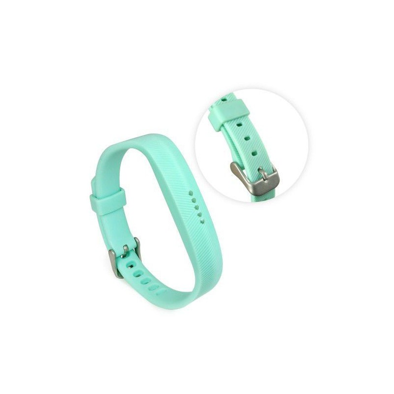 Tuff-Luv  G1_111  Silicone Strap Band for the Fitbit Flex 2 - Teal