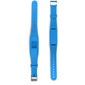 Tuff-Luv  C9_71 Garmin Vivofit 3 Silicone Wrist Watch Strap - Blue