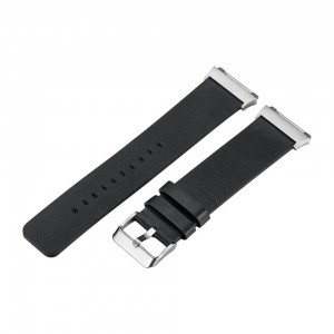 Tuff-Luv  I14_77  Genuine Leather Strap for Fitbit Ionic - Black