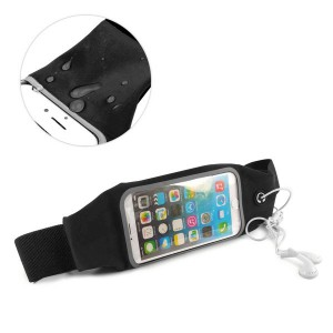 Tuff-Luv  A11_60  Water resistant Sports Runners Waist Bag Belt Pouch for iPhone 6s - Black