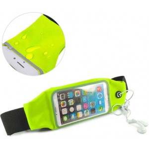Tuff-Luv  A11_62  Water resistant Sports Runners Waist Bag Belt Pouch for iPhone 6s - Green
