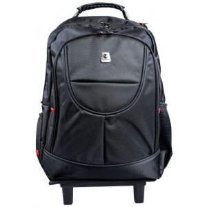 "Volkano  VB-VL1022-BK  16"" Drifter Series Trolley Backpack -Black"
