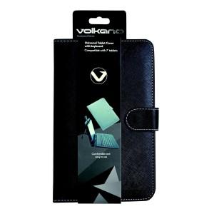 "Volkano  VB-VK307-B  7"" Tablet Cover With USB Keyboard - Black"