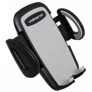Volkano VK-5016-BK Flow Series Black Large Car Airvent Phone Holder