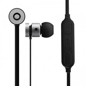 Volkano  VK-1006-SLBK  Mercury Series Magnetic Bluetooth Earphones - Silver/Black