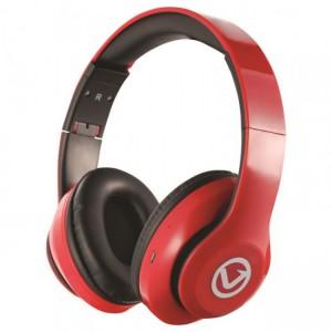 Volkano  VB-VH101-RD  Impulse Series Bluetooth Headphones - Red