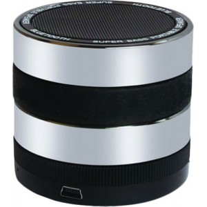 Volkano  VB-706-SB  Titan Series Bluetooth Speaker - Black/Silver