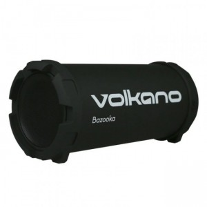 Volkano  VB018  Bazooka High Powered Bluetooth Speaker-Black