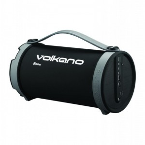 Volkano  VB020-GR  Blaster Ultra Powerful Bluetooth Speaker- Black & Grey