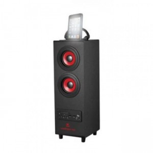 Volkano  VK-3006-BK  Hurricane Series Tower Bluetooth Speaker