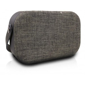 Volkano  VK-3020-GRD  Fabric Series Bluetooth Speaker - Dark Grey