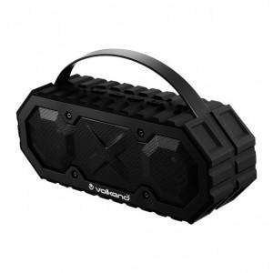 Volkano  VK-3023-BK   X Typhoon Series Waterproof Bluetooth Speaker - Black