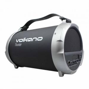 Volkano  VK-3029-BK  Thunder Series Bluetooth Wireless Speaker-Black