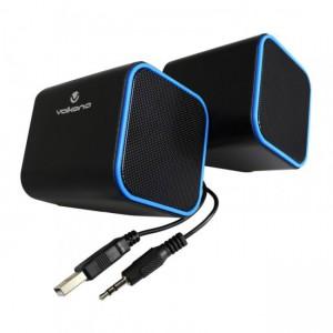 Volkano  VB-702-BLUE  Diamond Series Blue USB Speakers