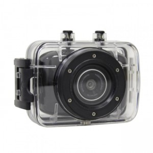 Volkano VBCAM-012-BK LifeCam HD 720P Black Action Camera
