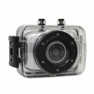 Volkano VBCAM-011SL LifeCam HD 720P Silver Action Camera