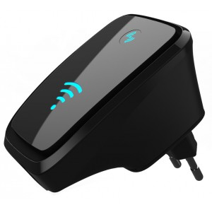 Wireless-N WiFi Range Extender / Repeater (Long Range Wifi Booster)