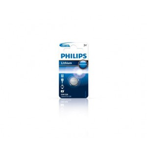 Philips CR1220/00B Minicells Battery CR1220 Lithium Sold as Box of 10
