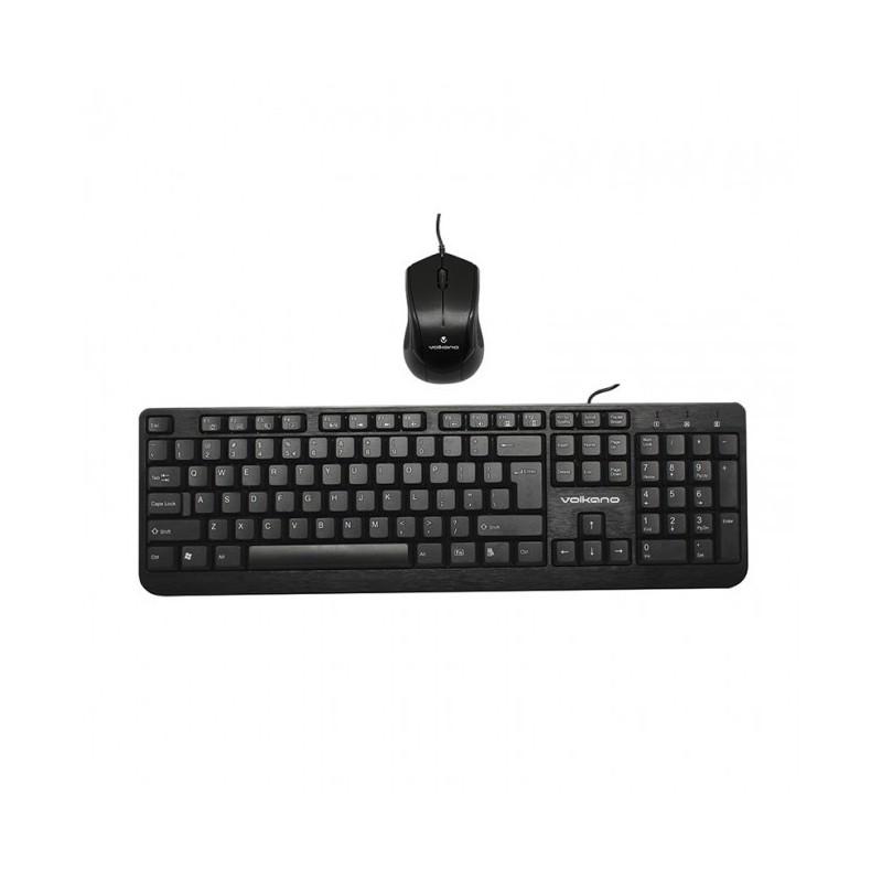 Volkano  VB-VS041-BK   Mineral Series USB Keyboard and Mouse Combo