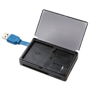 Volkano VK-20012-BK Reader Series Black USB 3.0 Card Reader