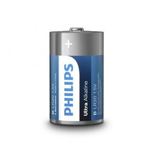 Philips  LR20E2B/10  Ultra Alkaline Battery LR20E2B  2x D Ultra Alkaline