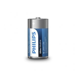 Philips  LR14E2B/10  Ultra Alkaline Battery LR14E2B 2xC Ultra Alkaline