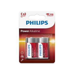Philips LR14P2B/97  PowerLife Battery LR14P2B C Alkaline