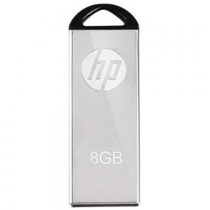 HP V220W-8GB 8GB USB Flash Drive -Silver