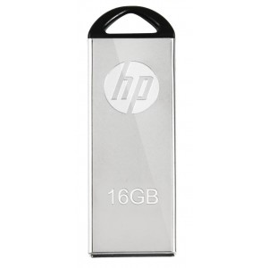 HP  V220W-16GB  16GB USB Flash Drive-Silver
