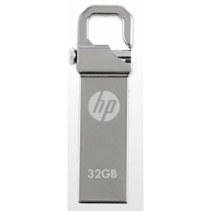 HP V250W-32GB 32GB USB 2.0 USB Flash Drive-Silver