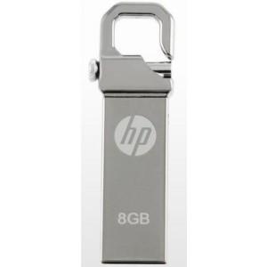 HP V250W-8GB 8GB USB 2.0 USB Flash Drive-Silver