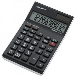 Sharp EL124T  12 Digit Semi-Desktop Calculator with Tax Function
