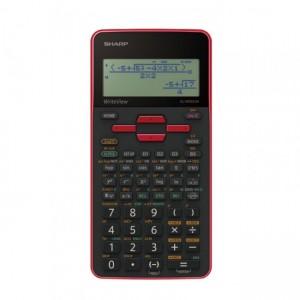Sharp  EL-W535SA-BRD  Scientific Calculator 330 Functions -Red
