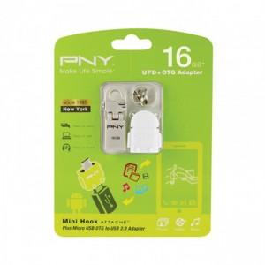 PNY  PFOU4016-BK  16GB OTG Flash Drive
