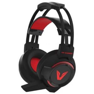 VX Gaming  VX-106-BK  Team Series Black & Red Gaming Headset with Mic