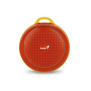 Genius  317-30007404 SP-906BT R2 Plus Red Portable Bluetooth Speaker