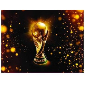 Esquire  7666234229704   Official FIFA 2010 Licensed Product-TROPHY Mouse Pad