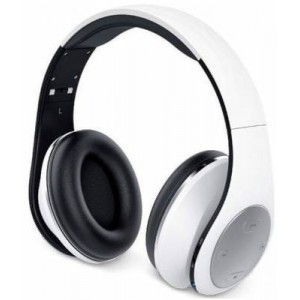 Genius 317-10199101 HS935BT Wireless Bluetooth 4.1 Stereo Headset - White