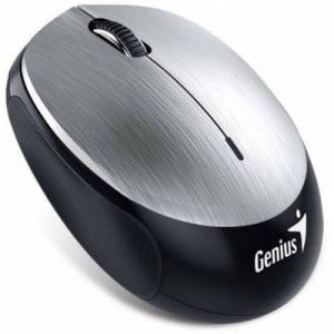 Genius 310-30299102 NX-9000BT Wireless Optical Mouse -Silver