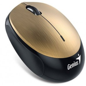 Genius 310-30299101 NX-9000BT Gold Wireless Optical Mouse