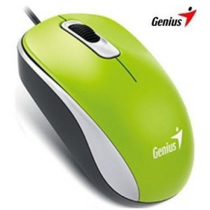 Genius 310-10116105 DX-110 Green USB Optical Mouse