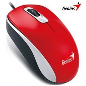 Genius 310-10116104 DX-110 Red USB Optical Mouse