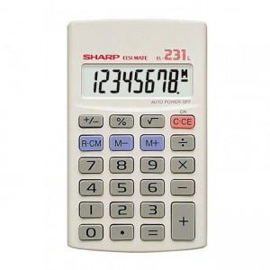 Sharp  EL231 LB Pocket Calculator