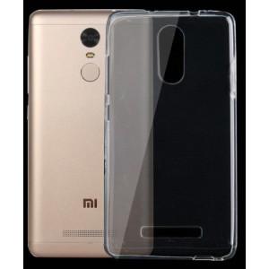 Tuff-Luv  I10_45  Silicone Ultra-thin TPU Gel Skin Case Cover for Xiaomi Redmi Note 3 - Clear