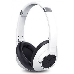 Genius  317-10196101  HS930BT Wireless Bluetooth 4.0 Stereo Headset with Built in Microphone-White
