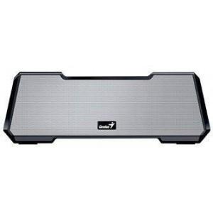 Genius 317-31073102 Mobile Theater MT-20 Silver Portable & Bluetooth Wireless Soundbar